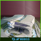 Classic scale football stadium model architectural model for developing and planning show