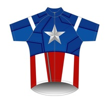 Coolmax dry fit cycling jersey flash