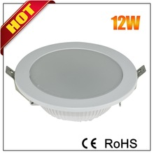 Newly developed long lifespan 9-12w led downlight housing 120mm for home and school in hangzhou