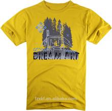 online shop 2015 plain cotton t shirt custom printed alibaba OEM t-shirt wholesales