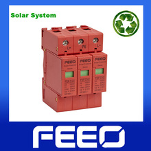 CE IP20 25A Solar Energy And PV System Surge 900V DC SPD