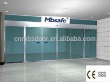 MBsafe automatic door open close sensor/DC24V 55w burshless motor sliding door/automatic opener weit CE