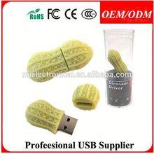 128GB PVC custom usb 2.0 flash drive, USB Pen Drive Disk made in China,