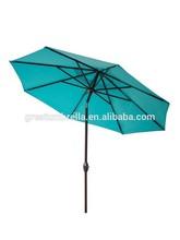 nice commercial waterproof garden umbrella middle aluminium