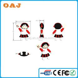 3d mini cartoon usb with 3D artwork show
