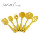 FDA approved 6pc hot sell nylon kitchen utensil