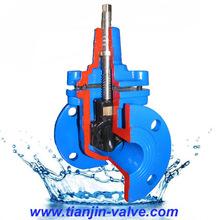 ss304 cast steel wafer cast knife edge gate valve