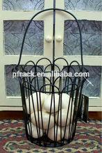 wire egg basket wholesale/wicker egg basket