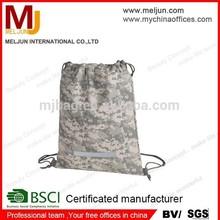 2015 Promo Athletics Gym Drawstring military Sports Pack Bag