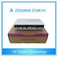 Mini receptor de satélite hd Zgemma estrela H1 hd receptor de satélite