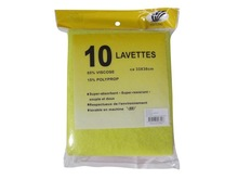 Nonwoven cleaning cloth cleanroom wipe