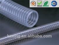 FDA certified food grade suction pvc feed hose
