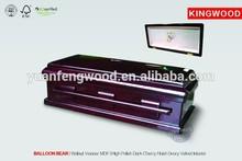 chile casket BALLOON BEAR #20 Walnuts Casket wood Veneer MDF