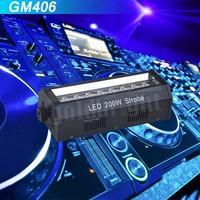 200W led light strobo DJ Big Shot LED Compact White LED Strobe Effect Light W/Speed Control led disco strobe/dj light