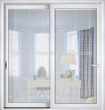 6063 T5 sliding door / aluminium interior door / glass door