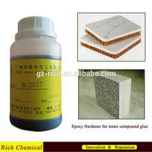 Epoxy hardener for marble/granite/stone glues R-2017