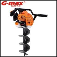 G-max bahçe aletleri diyafram tip 2- zamanlı 52cc toprak el burgu gt29105
