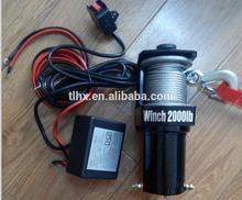 High performance 2000lbs atv electric winch