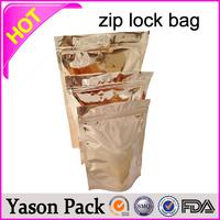 YASON herbal incense bag with zipper spice bags kryptooite mylar ziplock potpourri herbal incense bags 3g 10g hot selling zipper