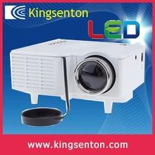 ultra short throw projector 50 ansi lumens 320*240 resolution with HDMI, VGA, Headset, AV in, USB, SD