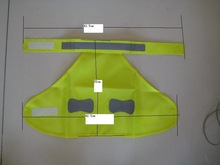 reflecting safety clothing for pet