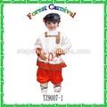 Tz9007-1 carnaval trajes nacionales para los niños con alta calidad