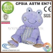 Boys and girls preferred stuffed purple frog gifts