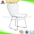 ( Sp-mc021 ) modern elegante ao ar livre réplica bertoia cadeira de fio