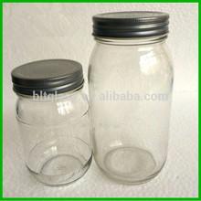 Wholesale 375ml 750ml Glass Jam Jars Honey Glass Jars with Twist Off Cap
