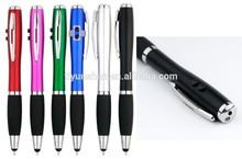 4 in 1 LED Laser Pointer Touch Pen Flashlight