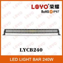 "New design Brand chip 240W 20400LM 41.5"" light bar 4x4 Best Auto Electrical System 41.5"" Offroad Light Bar 240w 41.5"" light bar"