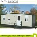 Pesa poco oficina de contenedor bueno vivienda prefabricada de calidad/contenedor de vivientas unidas en venta