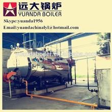 Supplier direct sale 8000kgs 8ton/hr 500bhp automatic steam baltur diesel burner boiler