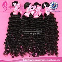 6a Fashion source human hair,no syntetic brazilian hair,remy glitter hair extension