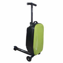 As seen on TV abs+pc trolley bag/luggage scooter