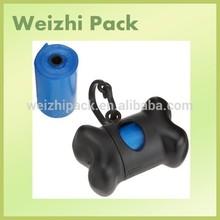 biodegradable dog waste bag/ dog poop bag with dispenser/drawstring dog poop bag