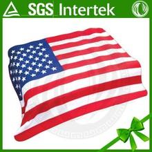 confortável a imagem do cobertor americano bandeira padrão novo