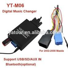 Yatour car audio USB/SD/AUX/Bluetooth multi function MP3 player for VW/AUDI/SKODA/SEAT