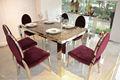 Mármore mesa de jantar para cozinha ct315+cy315