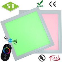 Shenzhen factory multicolor panel with remote control / wifi control 30x30cm 11W rgb ultra-thin flat panel led lighting