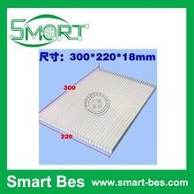 Smart Bes~ aluminum heatsink,large 300 * 220 * 18 mm aluminum radiator cooling plate/heating panel