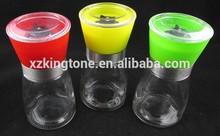 Kingtone Delicate Spice Grinders 150ml Glass Spice Jars Utmost Comfort in Use