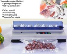 220V or 110V plastic film vacuum sealer for food, shop or home vacuum with 3 mm sealer