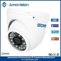 "ESCAM hottest 1/4""CMOS Peashooter QD520 1.0MP Onvif P2P -30 centigrade ~+60 centigrade, Less than 95%RH mini camera"