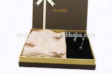 Luxury scarf with diamante for premium gift