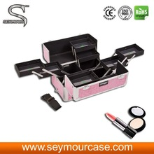 Wood Cosmetic Box Good Price Cosmetic Case Travel Makeup Case