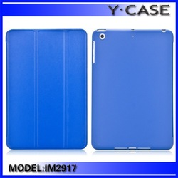 New Arrival Smart Cover for iPad Mini 2 with Rubberied hard case