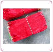 2014 Orange mesh plastic bag made in China