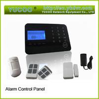 smart home wireless multi-function intelligent GSM alarm systems with door sensor / PIR motion sensor / sensor host