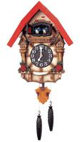 RHYTHM CLOCKS - CUCKOO CLOCK - MODEL 4MJ415-R06 - BRAND NEW AND ORIGINAL